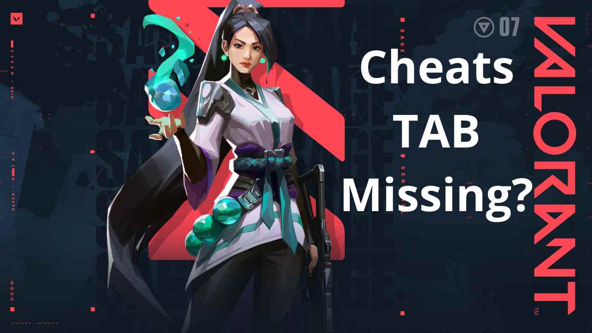 Read more about the article Cheats Tab Not Showing In Valorant